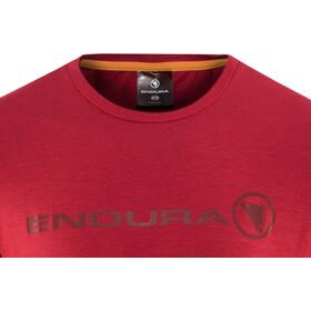 Endura SingleTrack Merino T-Shirt Homme, rustred